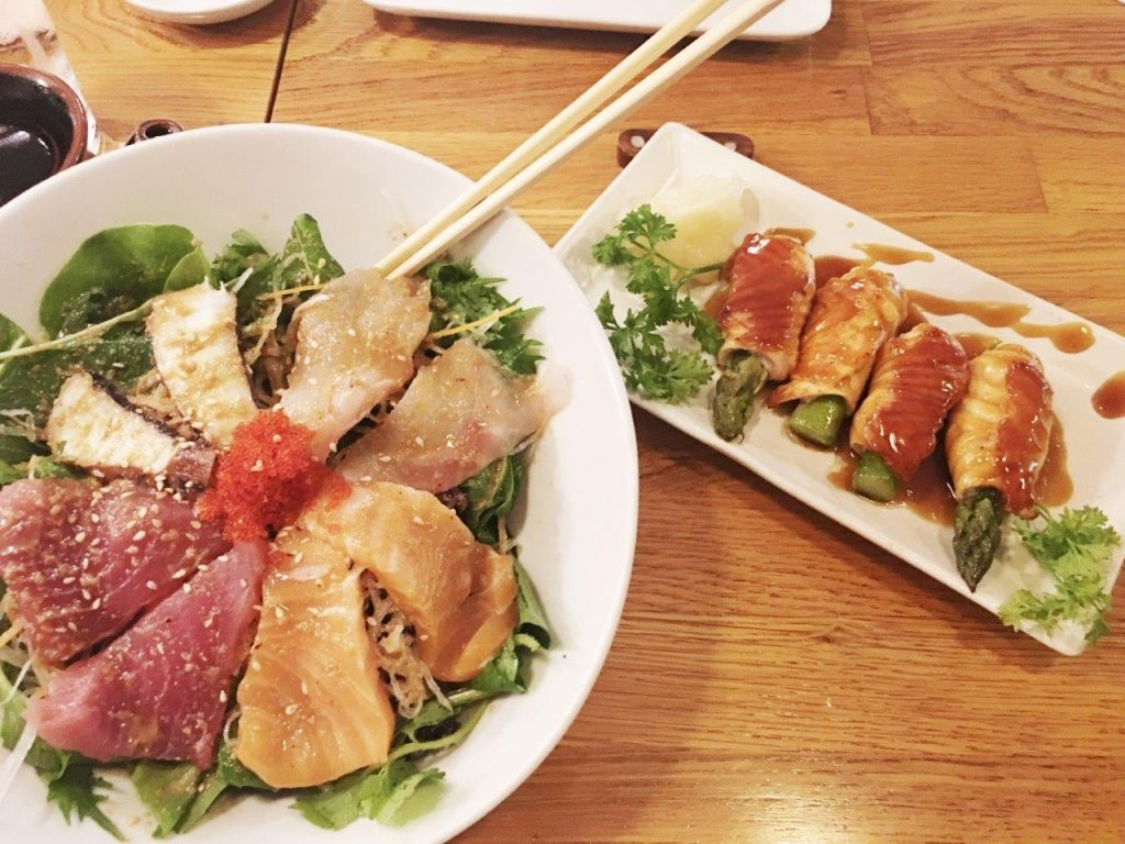 Miyabi Sushi'den Kalori Hesabı Yapanlara